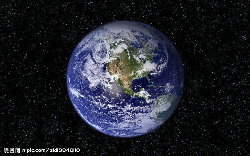地球有大气层和磁场,表面的71%被水覆盖,其余部分是陆地,是一个蓝色星