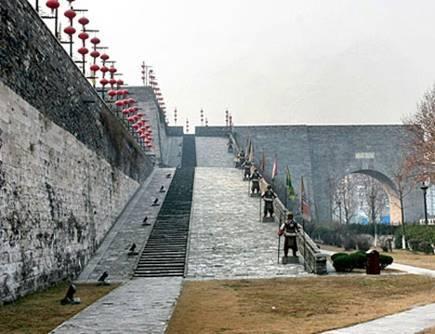 中华门(南京古城墙城堡式城门)