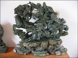 掖县滑石雕刻