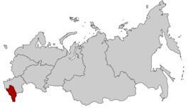 скийфедеральныйокруг)位于俄罗斯南部的北