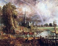 是英国著名风景画家约翰康斯太勃尔创作的油画作品