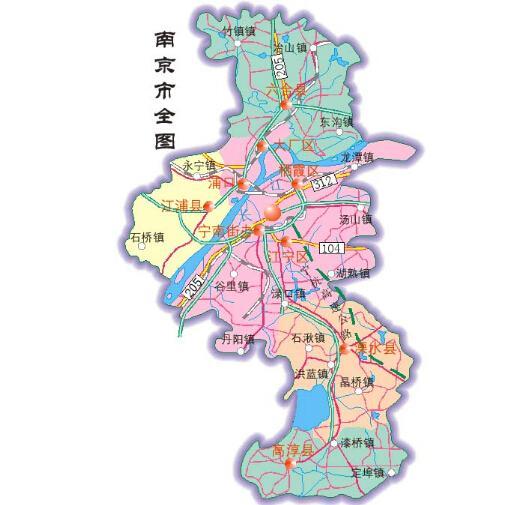 南京文化地图手绘
