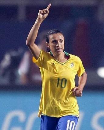 玛塔巴西职业女子足球运动员