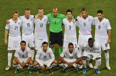 美国国家男子足球队图片