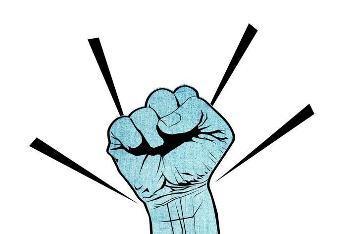 拳头的画法步骤图