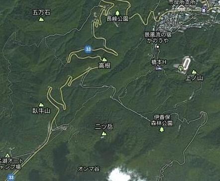 秋名山(日本群马县的上毛三山之一)