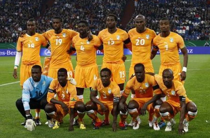 中国足球队vs马里队_科特迪瓦国家男子足球队