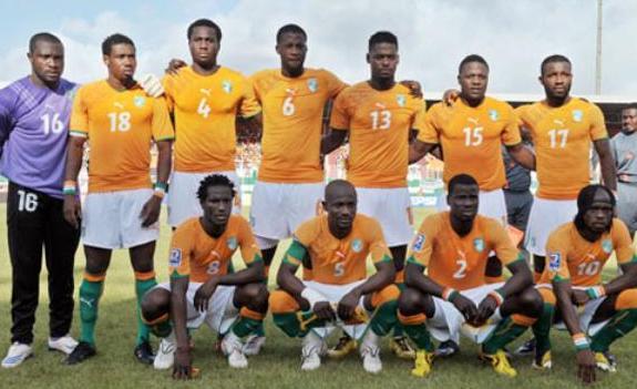 科特迪瓦国家男子足球队图片