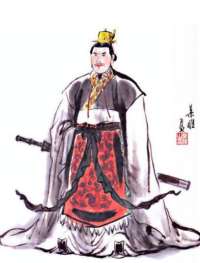刘备手绘王者荣耀q版