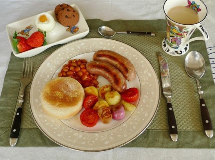 英式早餐图片
