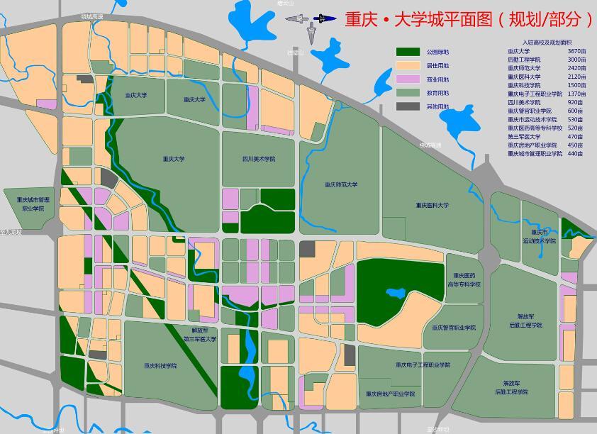 重庆市大学城本着