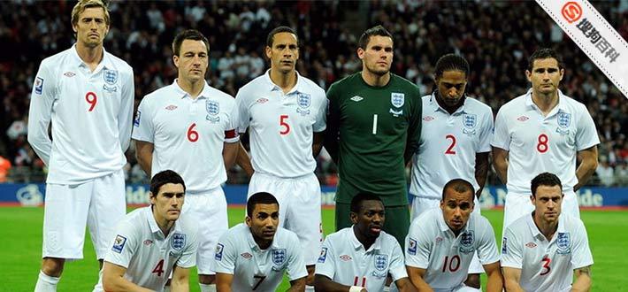 是代表英格兰出席国际足球赛事的球队,如世界杯及欧洲足球锦标赛等,由图片