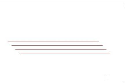手绘直线绳子素材