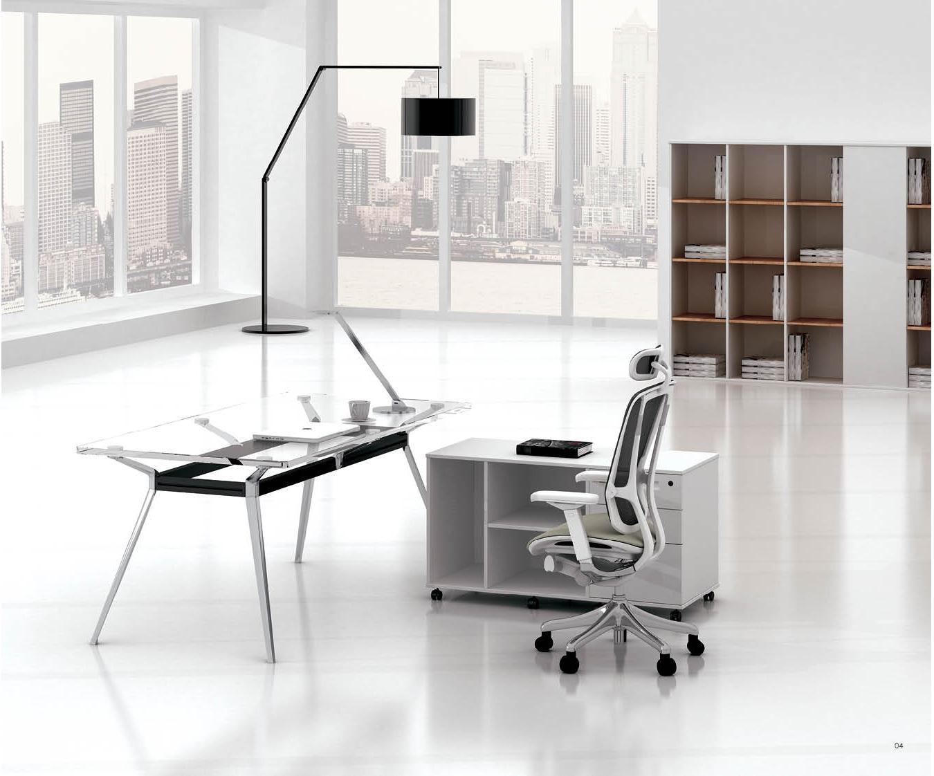 金属办公桌椅,软体办公桌椅等;而从使用场合分类有办公室,敞开式的图片