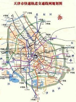 天津地铁8号线 搜狗百科图片