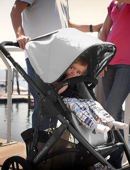 婴儿车,是宝宝最喜爱的散步交通工具