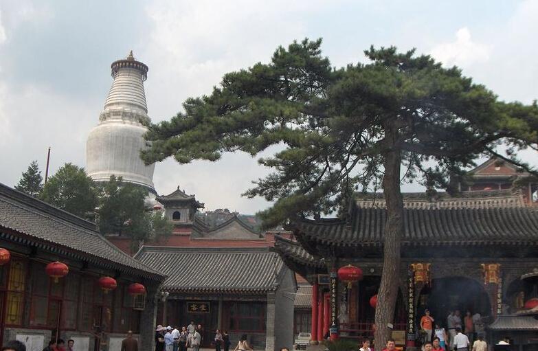 五台山寺院内部