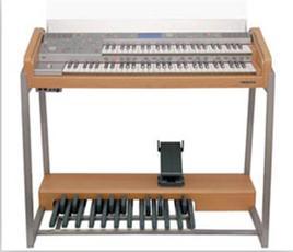 双排键电子琴(电子管风琴