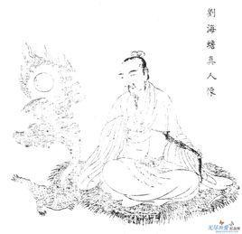刘海蟾图片