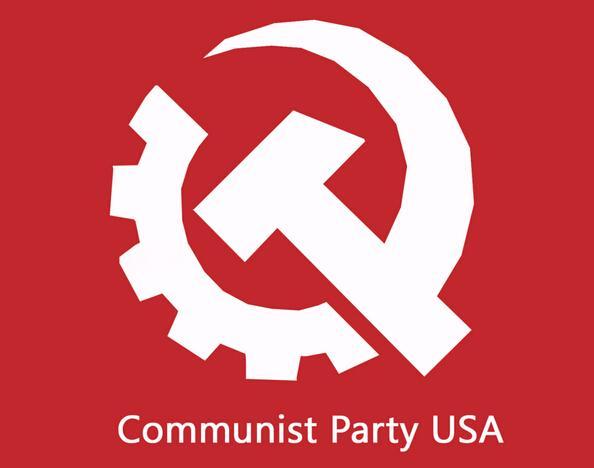 手绘共产党标志图片黑白