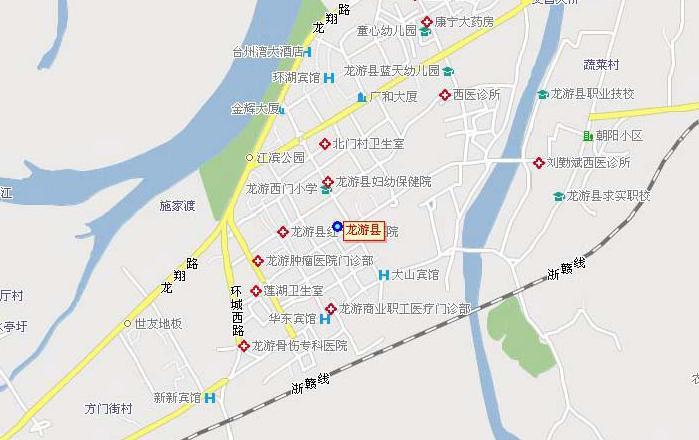 龙游县地图