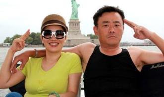 周立波和老婆图片
