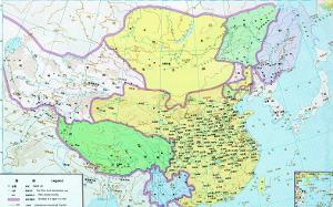 大隋朝疆域