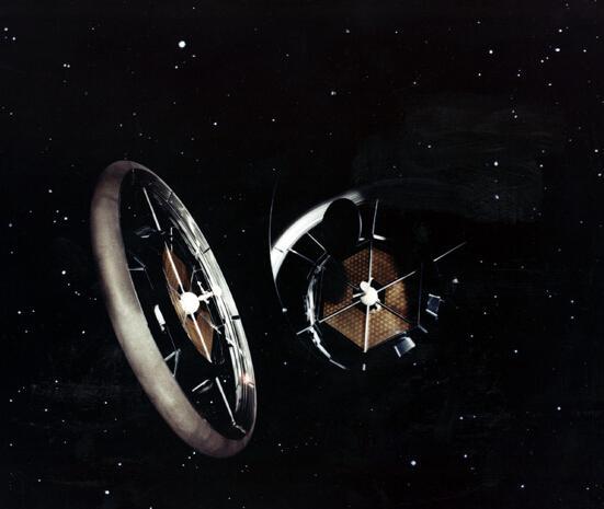 建造可供人们长期生活工作的太空城,既是人类的梦想,又是空间技术发展图片