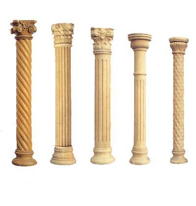 复合式则在科林斯式柱头上加上一对爱奥尼式的涡卷,柱式趋向华丽,细密图片