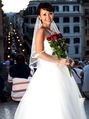 石琼璘婚纱照图片