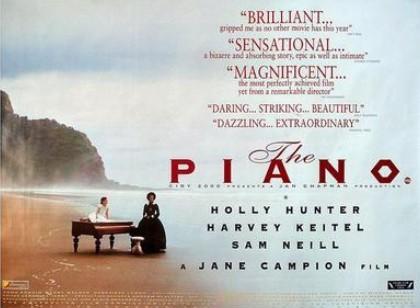钢琴课海报