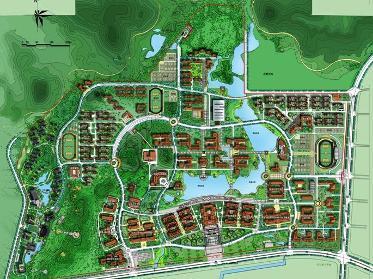 厦门大学翔安校区平面图厦门大学翔安校区主要用于发展:一是重点布图片