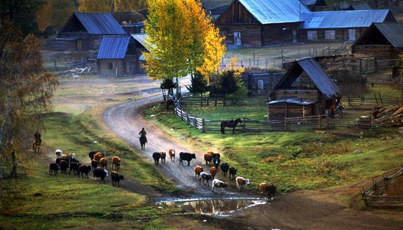 哈萨克斯坦风景图片