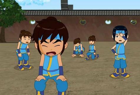 蹴鞠的动画片-宋代足球小将 剧照