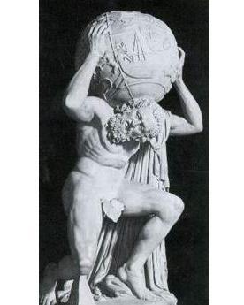 阿特拉斯 希腊神话人物图片