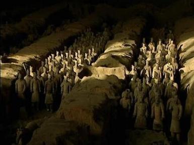 秦始皇陵墓之谜图片
