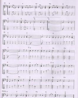 吉他谱小情歌-小小恋歌 曲谱