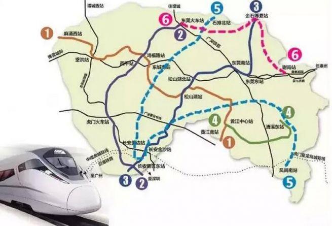 调整(2017-2020年)公示》5号线线路起点位于东莞地铁1号线松山湖北站