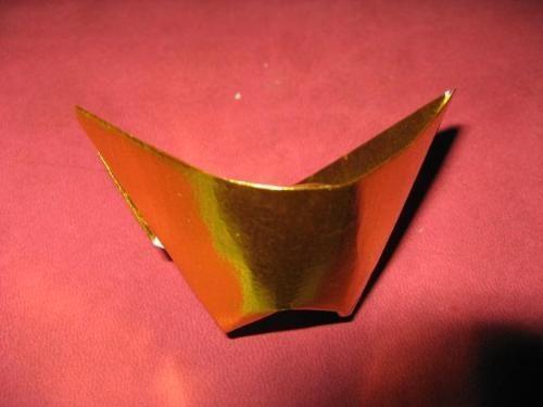 锡箔宝塔折法图解