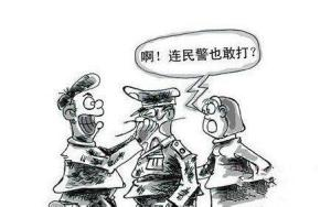 妨碍执行公务罪