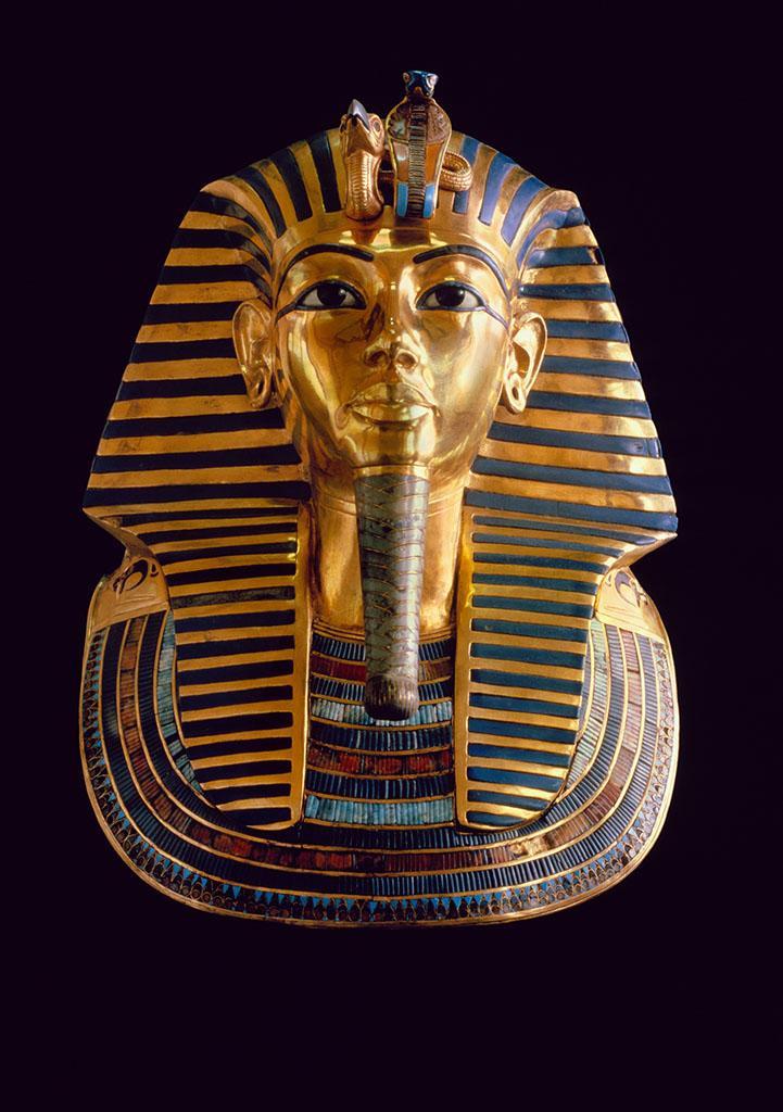 埃及黄金面具图片