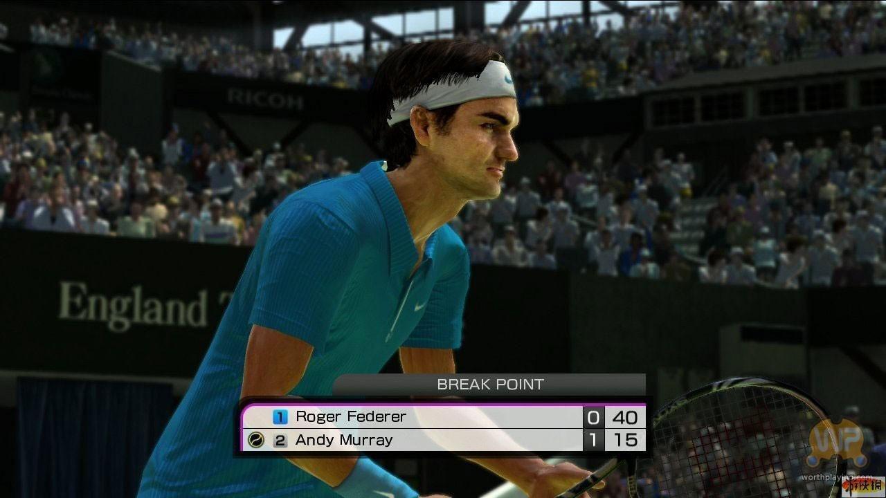 虚拟网球4双打试玩