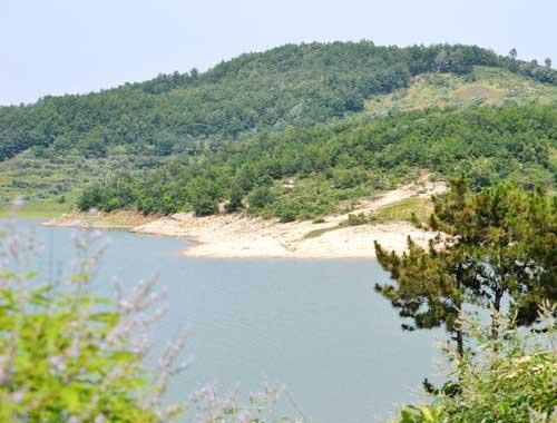 铜山湖风景区高清图片