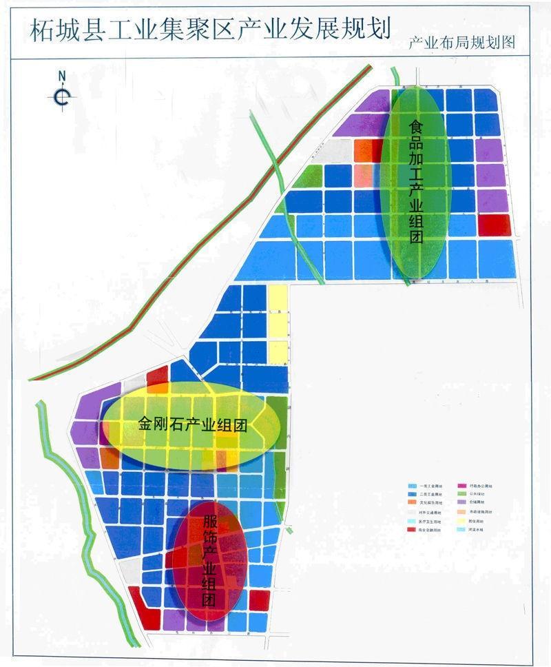 产业发展规划产业布局规划图