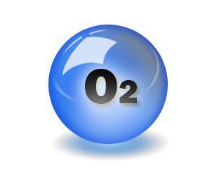 氧气,化学式o2,式量32.00,无色无味气体,氧元素最常见的单质形态.图片