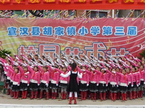 达州市宣汉县胡家镇小学图册