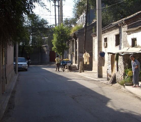 刘海胡同位于北京西城区,东起松树街,西至图片