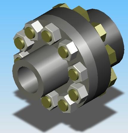 套筒联轴器的结构简单,制造方便,成本较低,径向尺寸小,但装拆不方便
