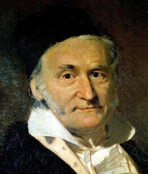 1796年,得到了《正十七边形尺规作图之理论与方法》.