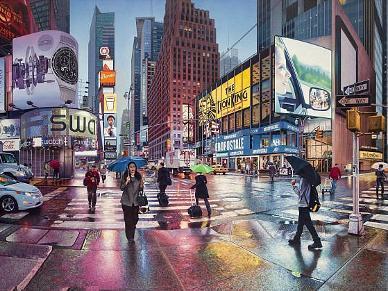 英国画家手绘世界城市景点